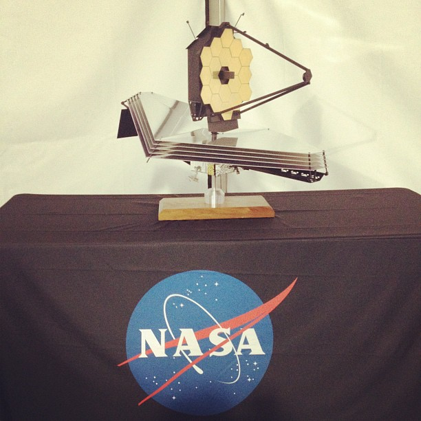 NASA telescope model