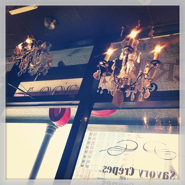 { #SXSW2013} Antique chandeliers ♡