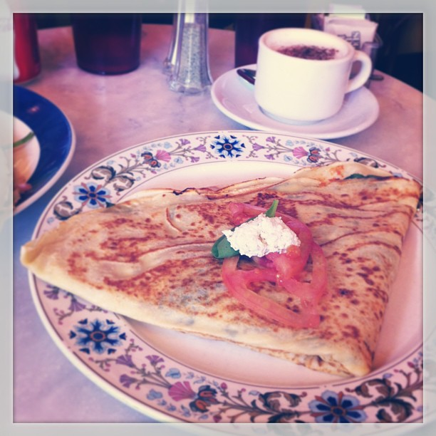 { #SXSW2013} Lunch at Le Cafe Crepe. :.The Bruni.: