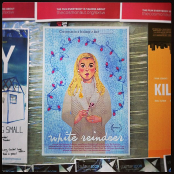 { #SXSW2013} Many an intriguing films coming up, too! ♡ www.whitereindeermovie.com