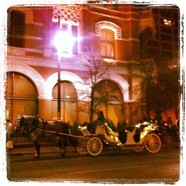 { #SXSW2013} Romantic carriage!
