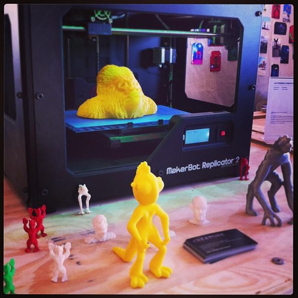 { #SXSW2013} SXSW Create: MakerBot!