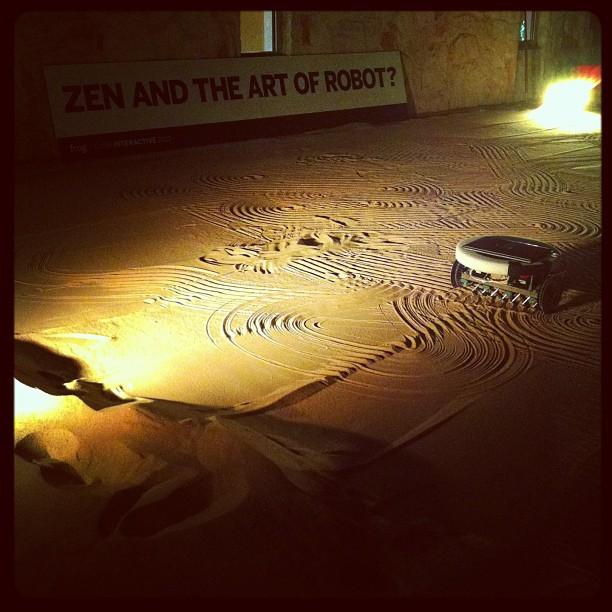 { #SXSW2013} Technology goes Zen! ロボットによるランドスケープづくり.:.