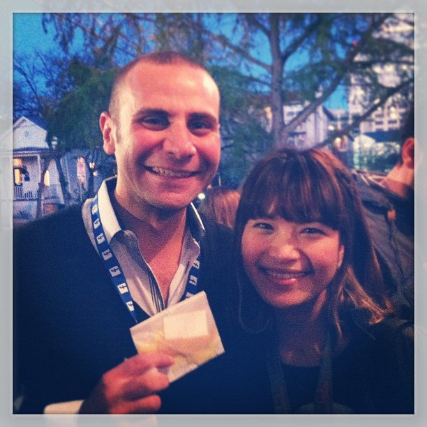 { #SXSW2013} Tool of NA Star Bar/Taco from a Truck. Bumped into Sam at WireDrive!