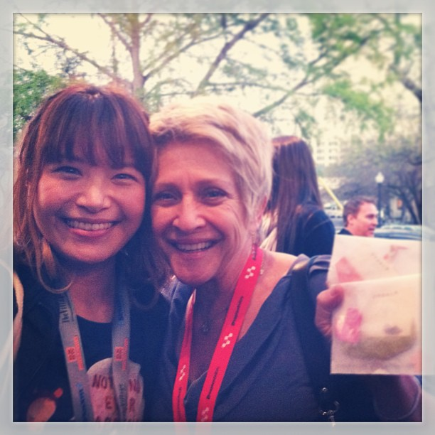{ #SXSW2013} Tool of NA Star Bar/Taco from a Truck. With Sylvia (production/creative Brilliant) from LA!
