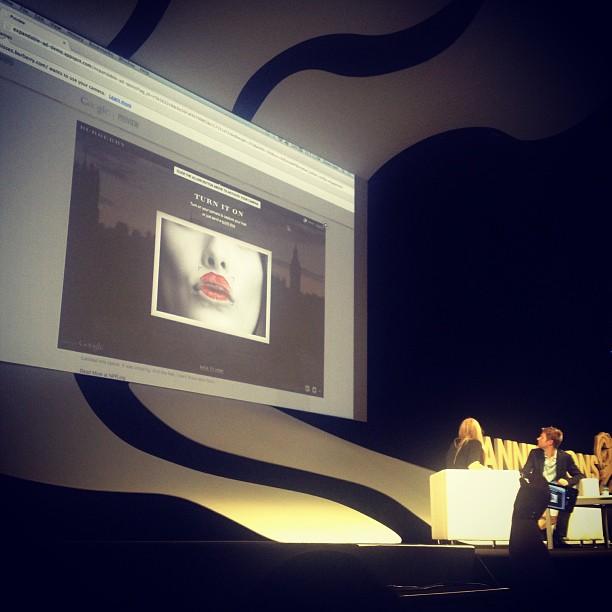 Burberry x Google. Luxury fashion x Technology.