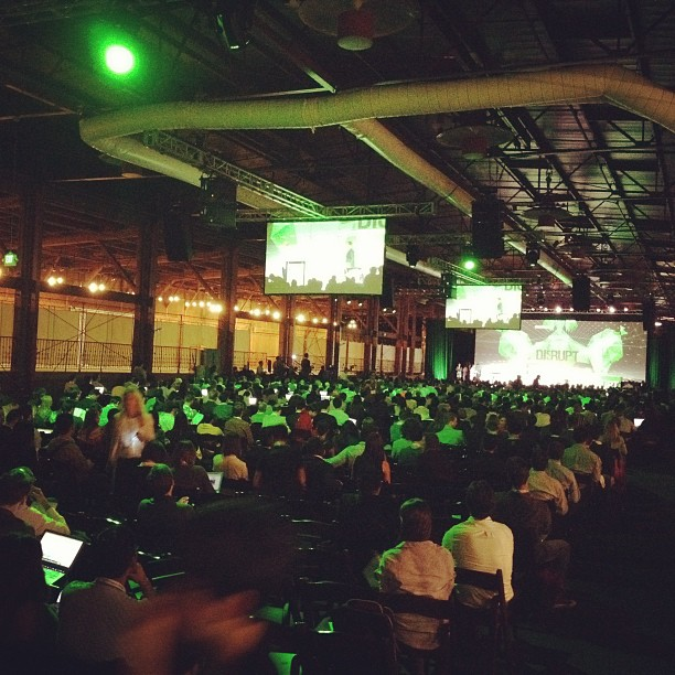 Tech Crunch SF Disrupt conference