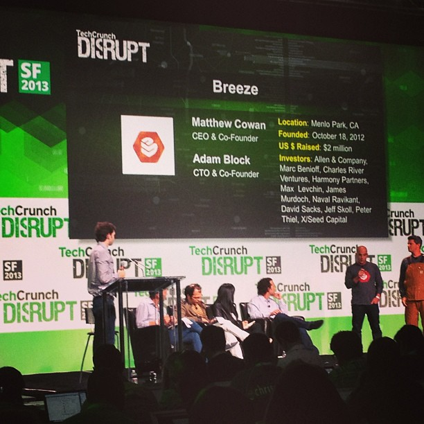 the pitches @disrupt