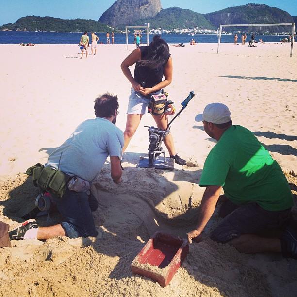 digging...