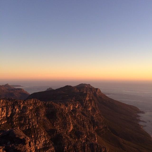 Cape town vantage point