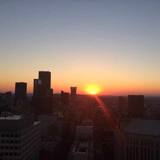 good morning Johannesburg!