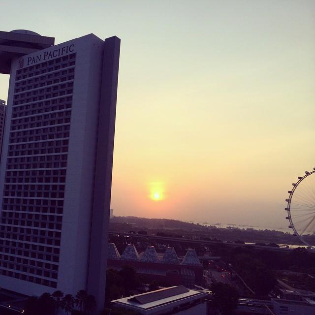 Good morning Singapore.
