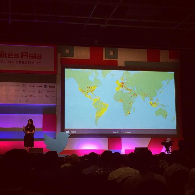 Twitter's seminar @SpikesAsia