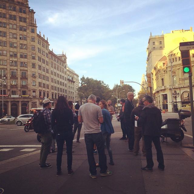 Teccing Tec Reccing in Barcelona バルセロナ晴れとるうれしす