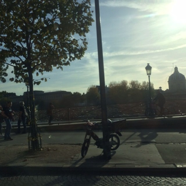 l can enjoy beautiful Paris now that our shoot finished well, tres joli!