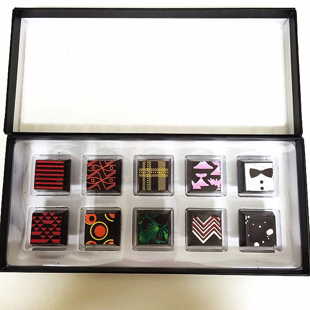 beautiful Compartes chocolate from Shannon! thank you!