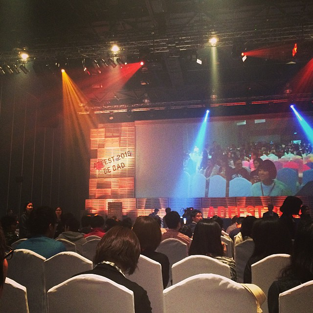 Adfest: Award ceremony is about to begin!!!!!