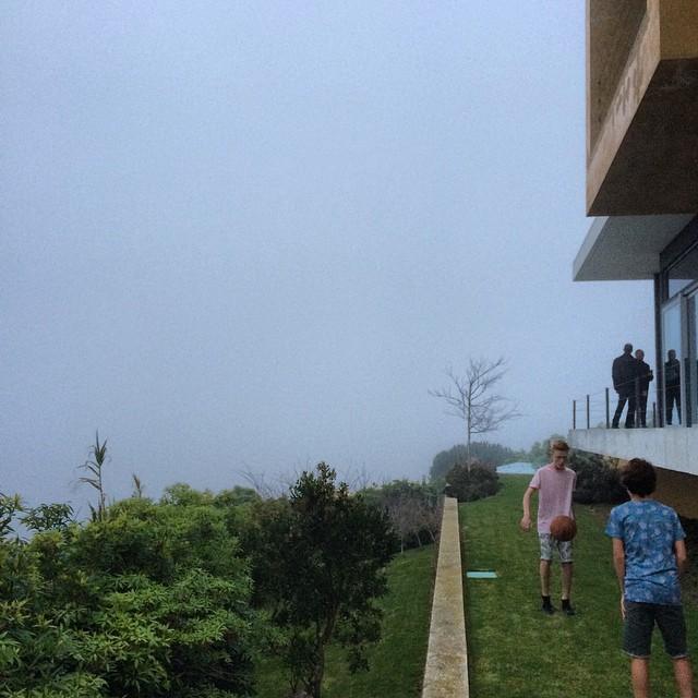 Foggy shoot day