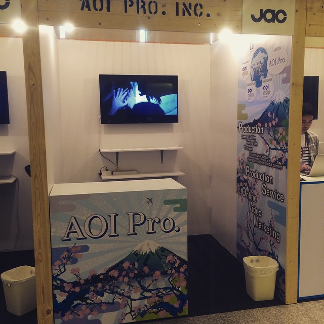 Our booth at ADFEST