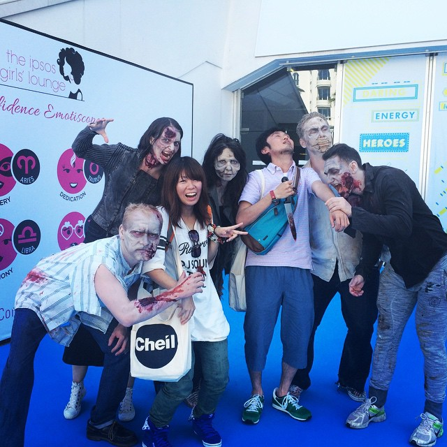 Zombies!!!!! #AOICannes2015