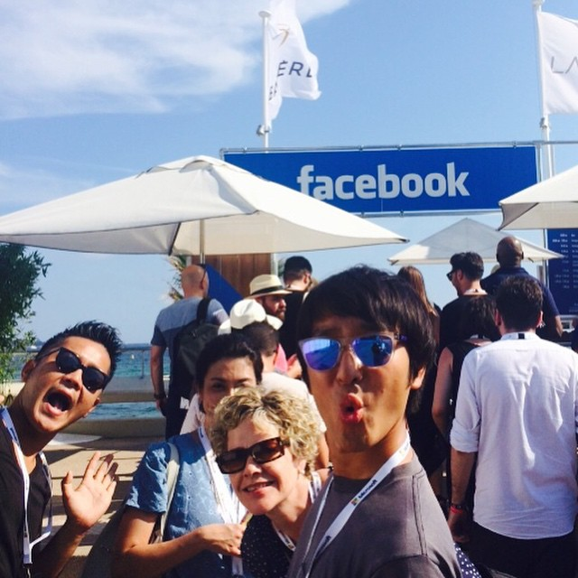 facebook beach!