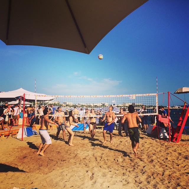 Google beach #AOIcannes2015