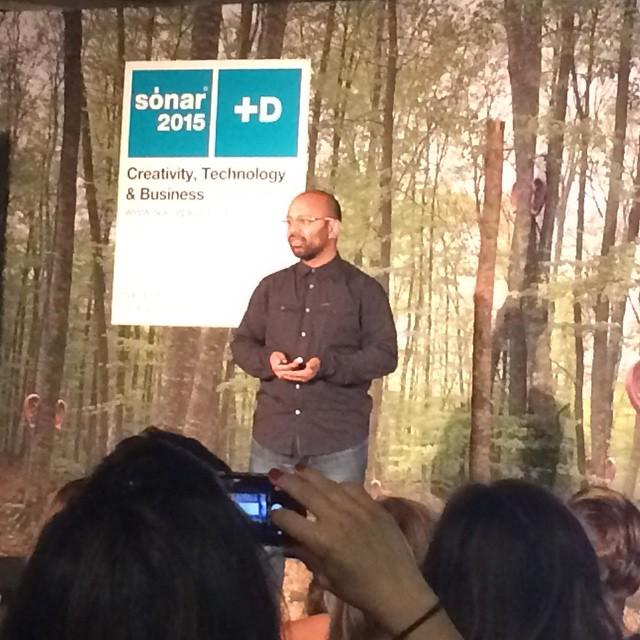 Director of Google Brand Indy Saha@ Sonar+D