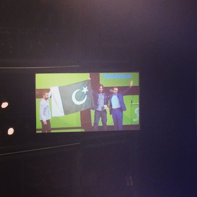 First ever gold for Pakistan!Yeah!!!