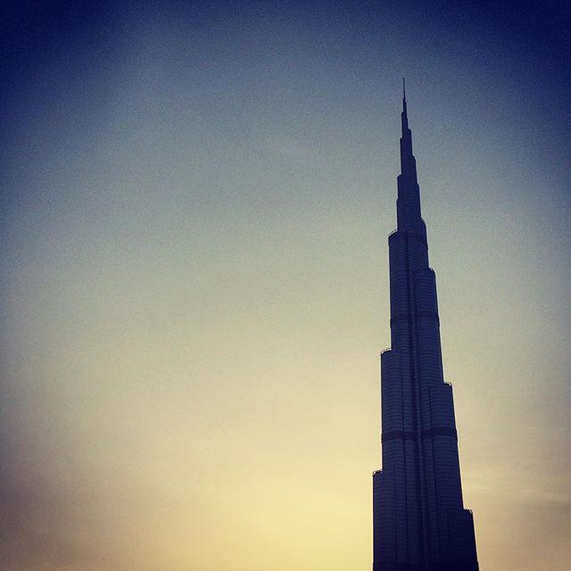 Evening Burj Khalifa