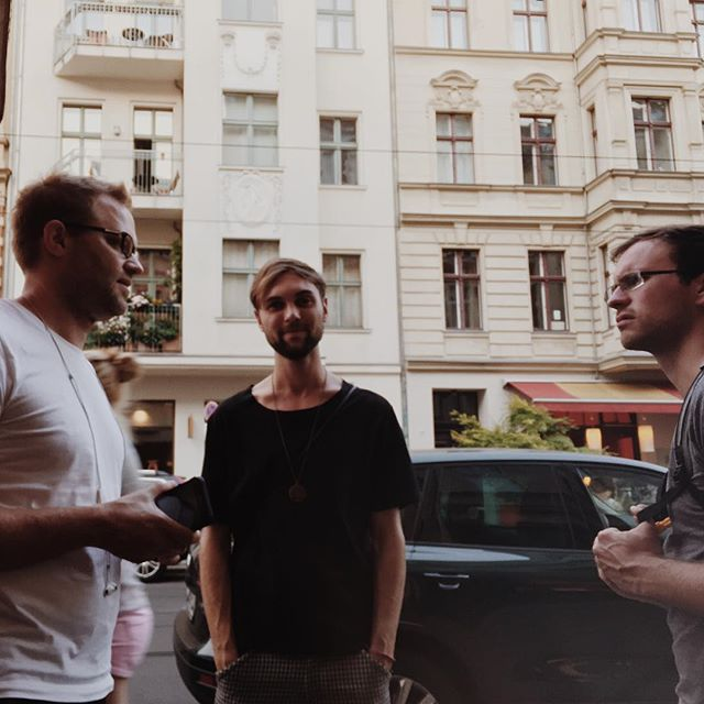 audioforce crew in Berlin