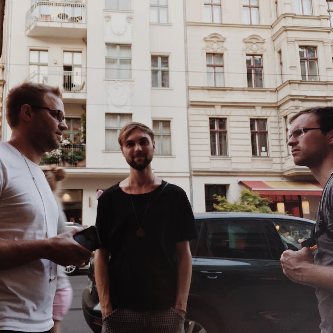 audioforce crew in Berlin
