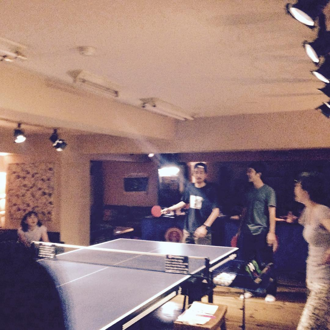 kokusai ping pong night! who's the winner?️
