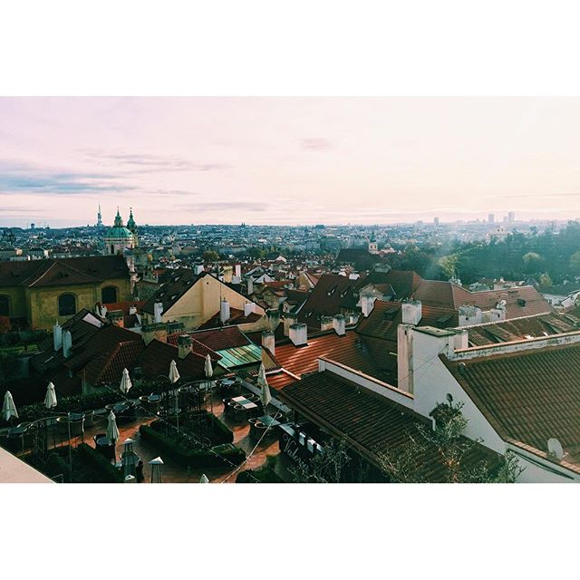 The view of Prague