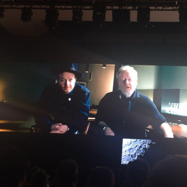 Ridley Scott and Jake Scott to produce LG's first ever super bowl ad!!! #ces2016