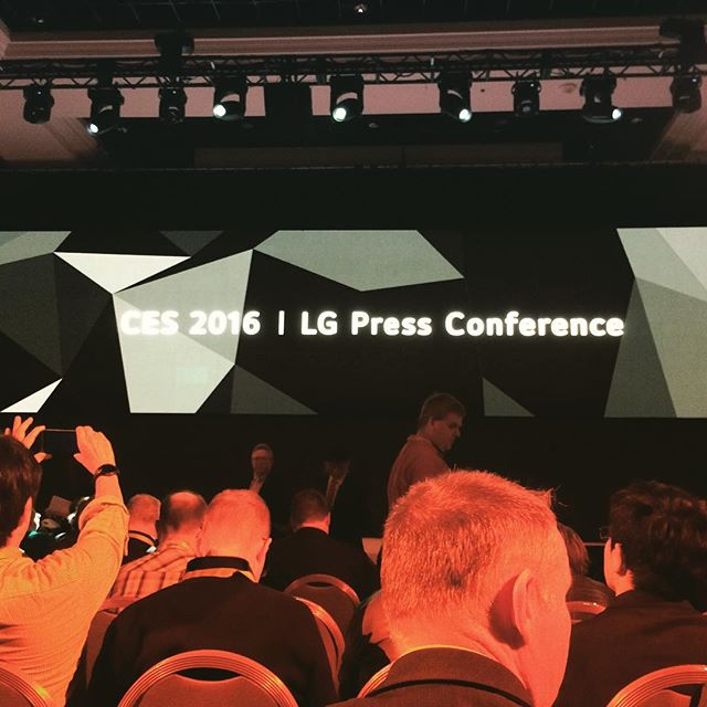 Checking out future of TV #ces2016
