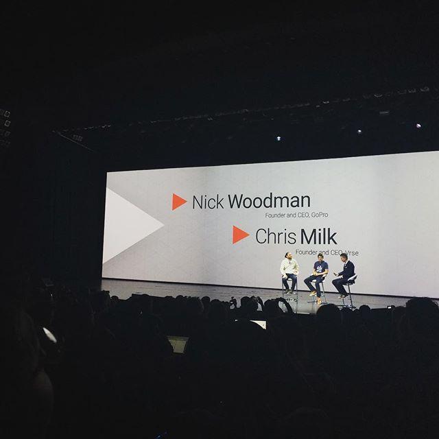 YOUTUBE KeynoteはGoProのCEOとChris Milk!!! コンテンツが先?テクノロジーが先?! #ces2016