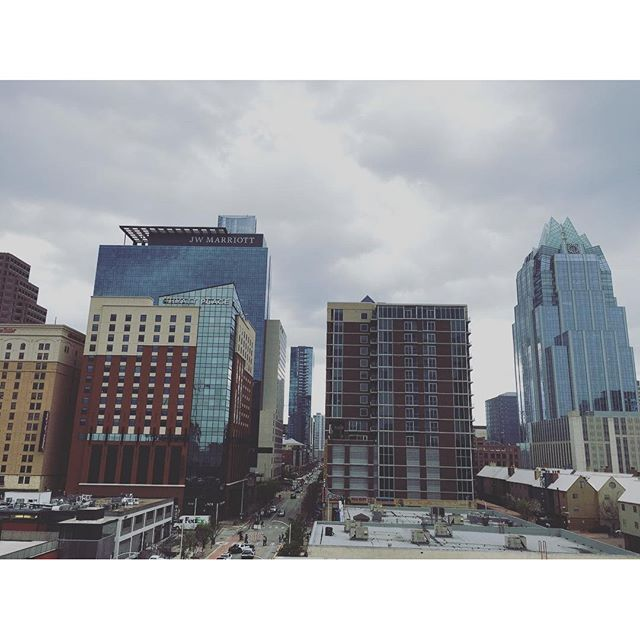 Gloomy Austin #sxsw