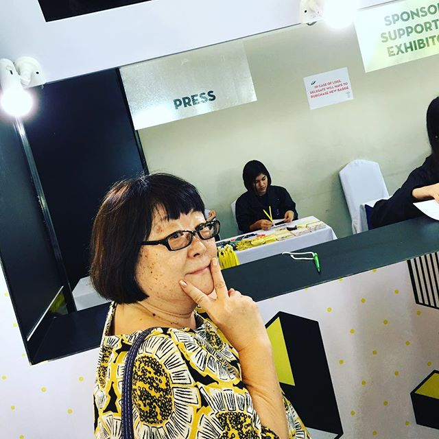 Kay-san registering for #adfest2016