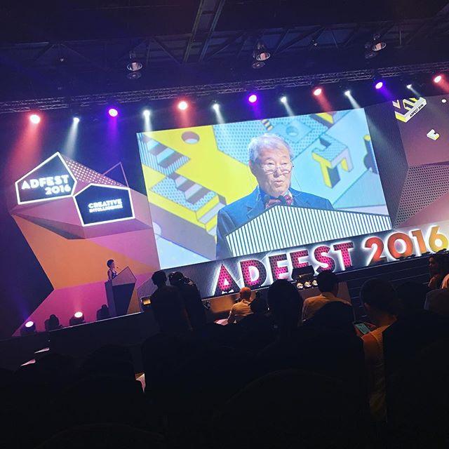 アドフェス授賞式始まりました!!#adfest2016