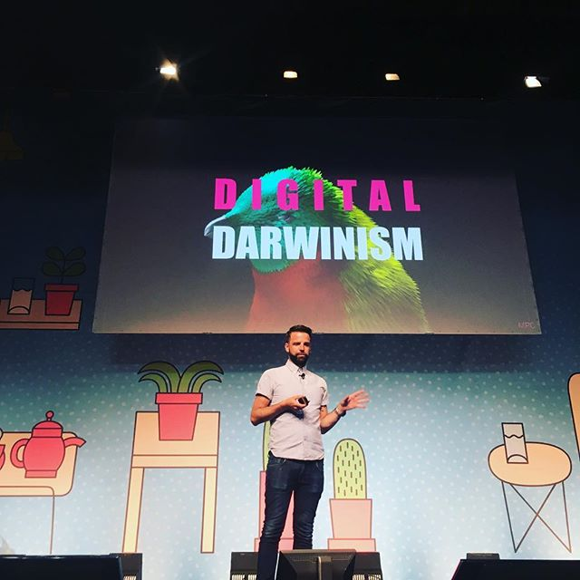 Digital Darwinism by MPC. #aoicannes2016 #canneslions #canneslions2016