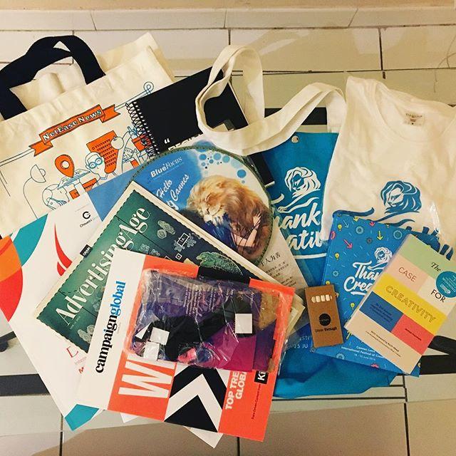 Cannes Lions Goodie Bag. #aoicannes2016