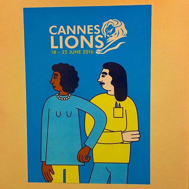 Cannes illustration #canneslions #canneslions2016 #aoicannes2016