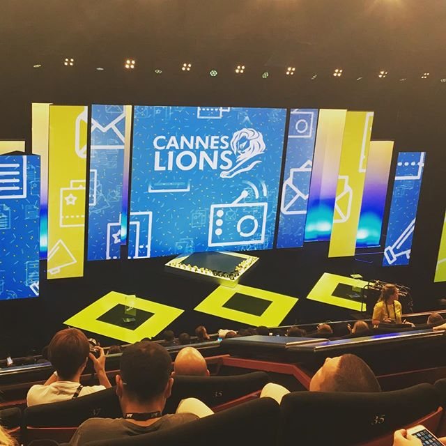 Cannes Lions Award Ceremony! #aoicannes2016 #canneslions