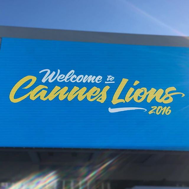 Welcome to Cannes Lions!! #aoicannes2016 #canneslions #canneslions2016