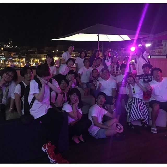 Thankyou all for coming! AOI Pro. & AOI ASIA Party Cannes 2016#aoicannes2016  #banvox