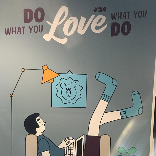 Do What You LOVE!  #aoicannes2016 #canneslions2016 #canneslions #aoipro