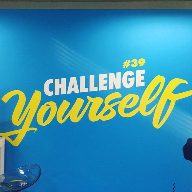 Challenge Yourself!!! #canneslions2016 #aoicannes2016 #canneslions