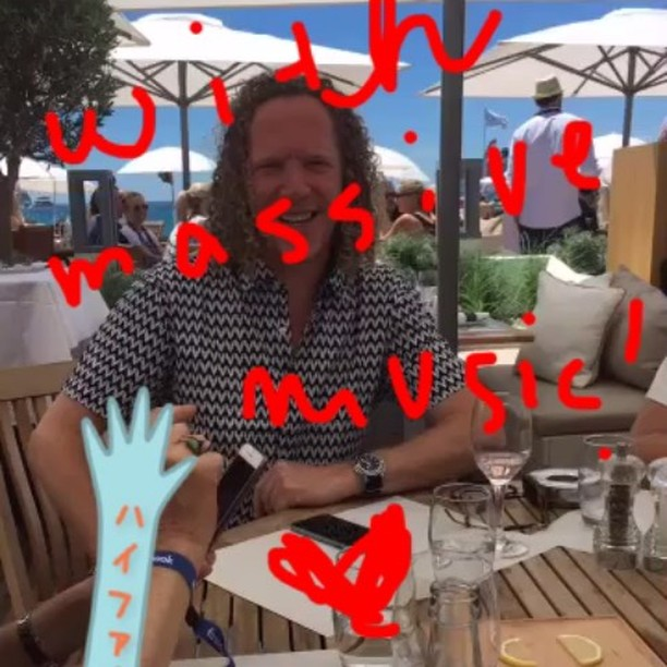 high five!#aoicannes2016