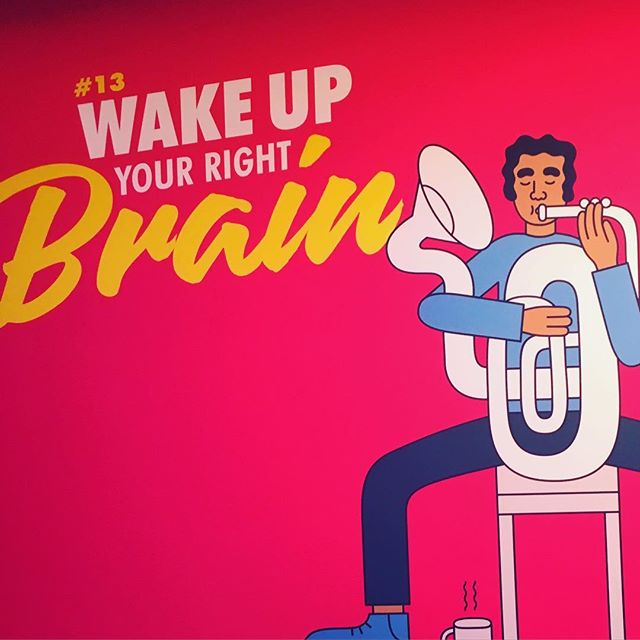 Wake up your right brain #canneslions2016 #aoicannes2016 #aoicannes2016 #aoipro