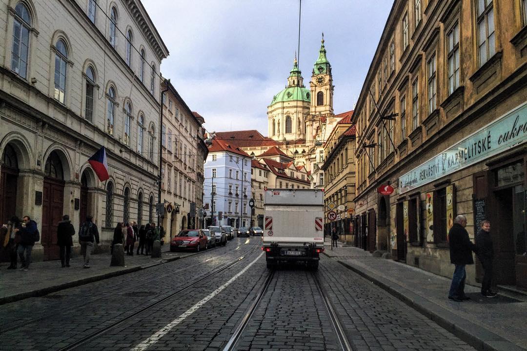 Scout in Prague